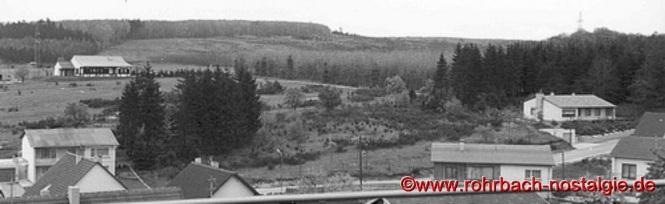 Die Edelweißhütte 1968 von der Nordstraße aus gesehen