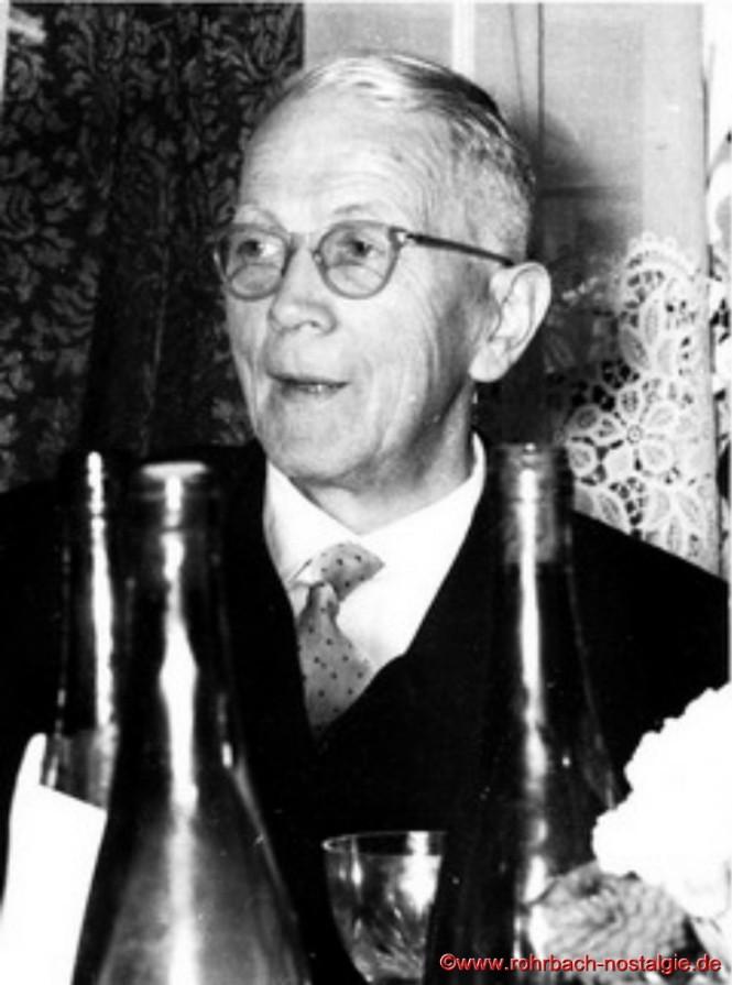 """""""De Kitze Lui"""" (Ludwig Gehring) ehemaliger Friseur und Inhaber eines Spielwarengeschäftes"""