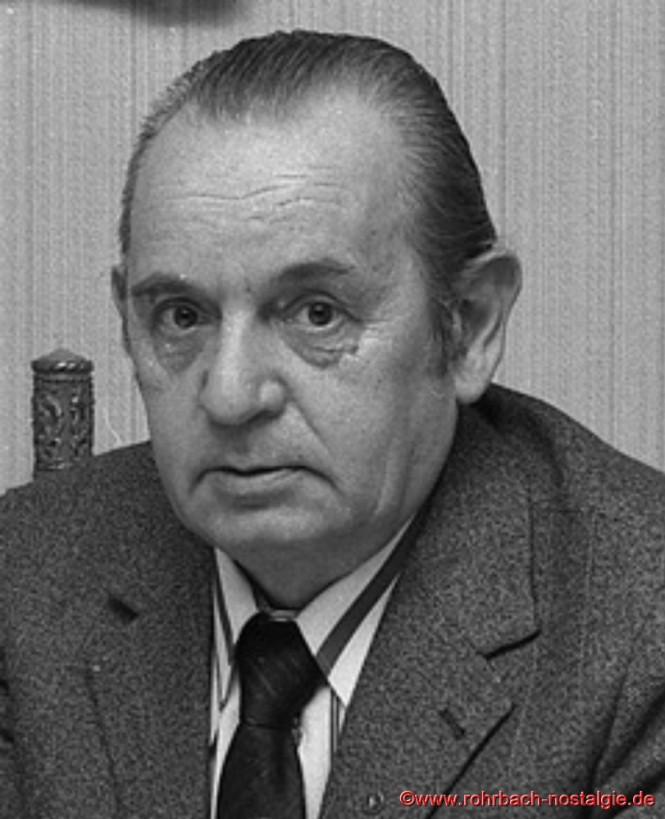 """""""De Pascha Max"""" (Max Deckarm) ehemaliger Schiedsmann der Gemeinde Rohrbach"""