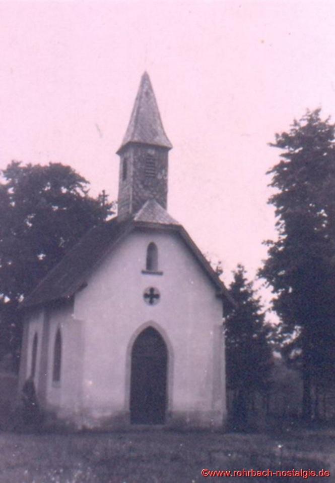 Die Geistkircher Kapelle an ihrem heutigen Standort