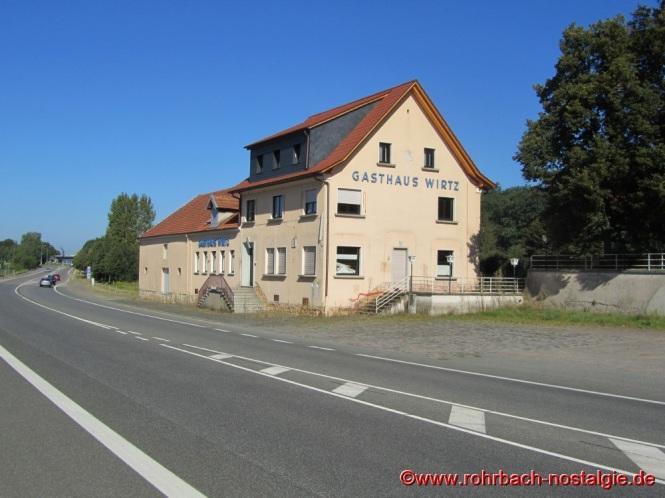 2008 Das Gasthaus Wirtz kurz vor seiner endgültigen Schließung