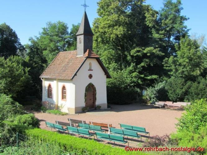 Die Geistkircher Kapelle im Jahr 2011