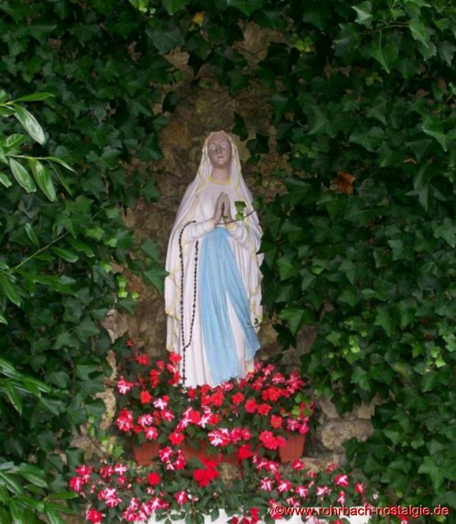 Die Lourdesgrotte an der Geistkircher Kapelle