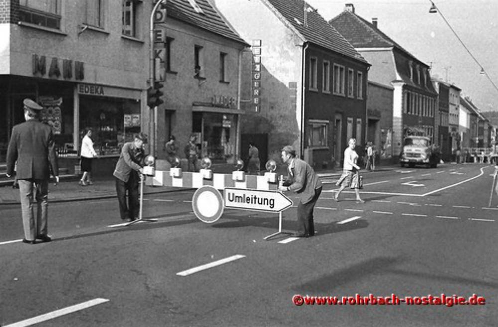 1980 Die Vorbereitungen für das 1. Alt-Rohrbach-Fest beginnen