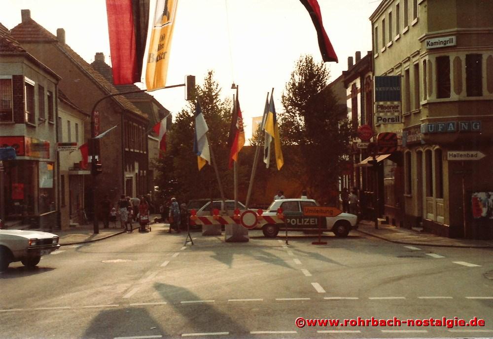 1981 Die Drehscheibe bei der Festeröffnung