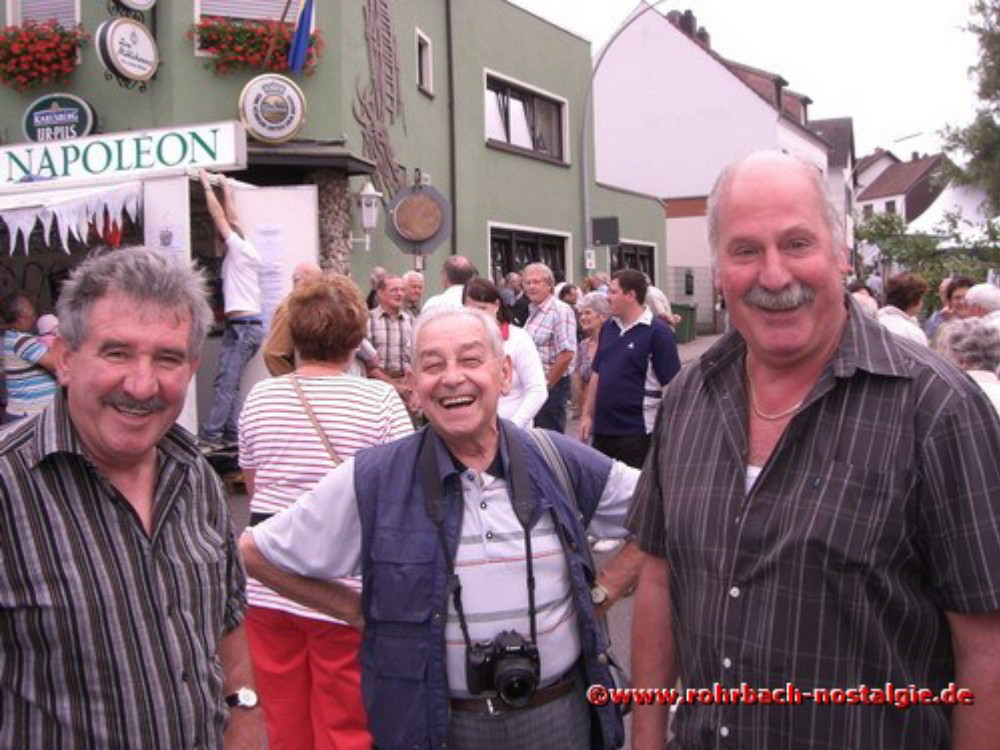 2008 Gerd Jung, Lokalreporter Albert Senzig und Erich Wagner (Caramba)