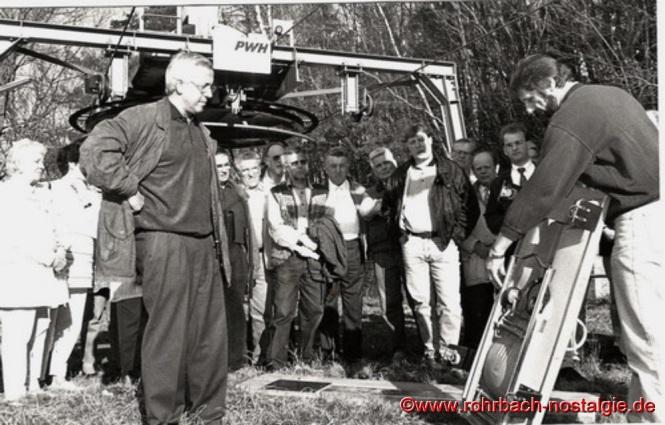 1996 - Das Projekt Sommerrodelbahn wird vorgestellt