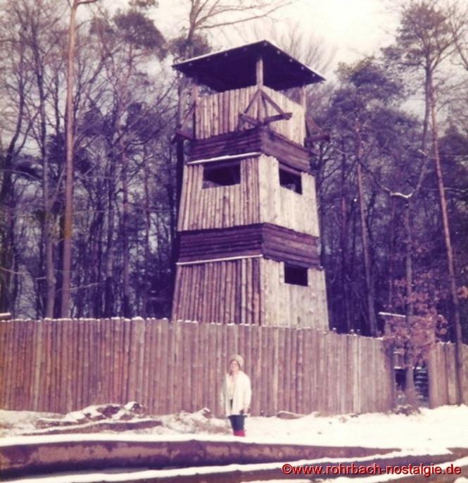"""Der 12,50 m hohe Turm vom """"Fort Larremie"""""""