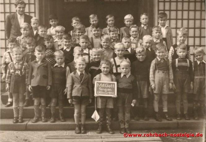 1950 Einschulung des Geburtsjahrganges 1944