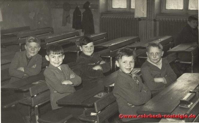 1953 Buben des Jahrganges 1946 in der Wiesentalschule