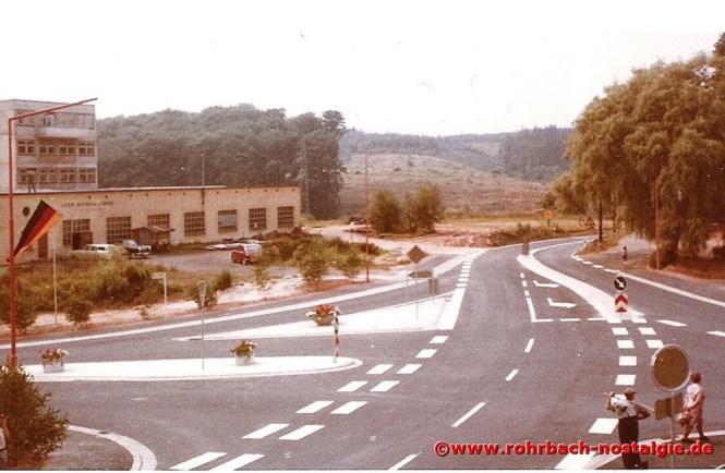 1971 Einweihung der Umgehungsstraße Mühlstraße