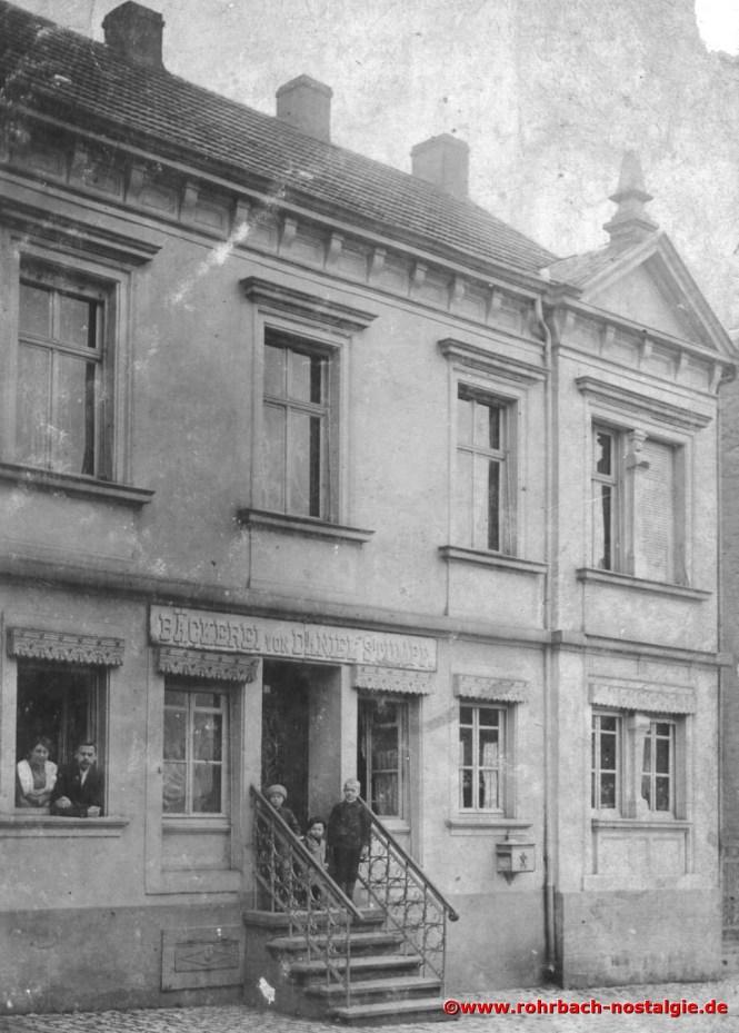 Die Bäckerei Daniel Stumpf, später Ignaz Stumpf