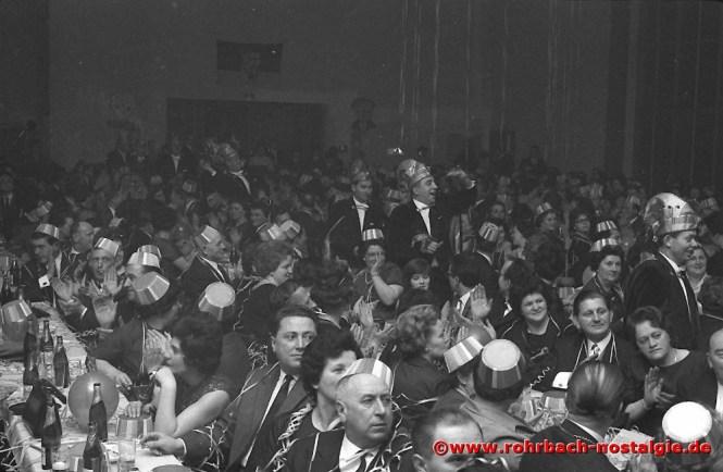 1966 Einmarsch des Elferrates in die Narrhalla