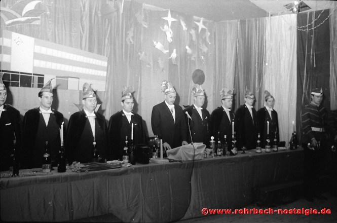 1967 Der Elferrat der CDU Rohrbach