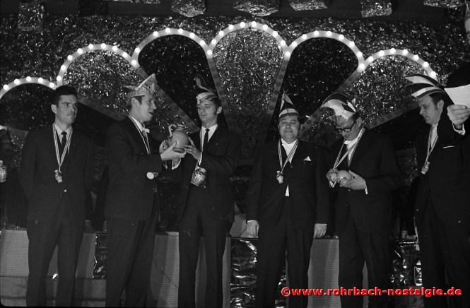 1970 CDU Fastnacht in TG Halle (20)