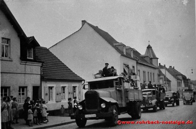 1939 Bewohner der roten Zone werden evakuiert, zumeist nach Thüringen und Oberfranken ins damals noch sichere Inland