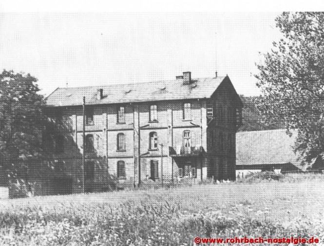 Die Rohrbacher Mühle im Jahr 1940