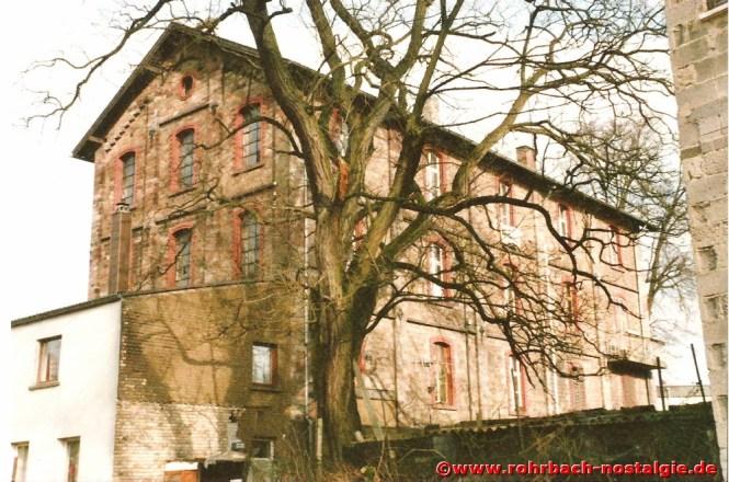 Die Rohrbacher Mühle im Jahr 1989