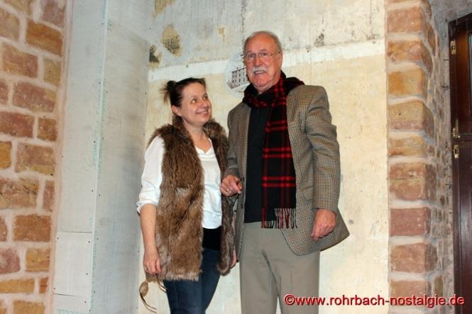 Frau Dr. Magdalena Telus und Siegfried Wack