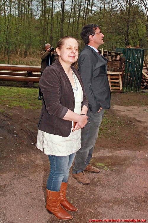 Die neuen Besitzer der Rohrbacher Mühle Dr. Magdalena Telus und Dr. Andreas Meiser