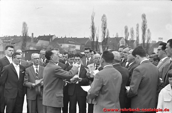 1963 Tag des Baumes auf dem neuen Marktplatz