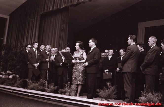 1964 Herbstkonzert in der TG Turnhalle