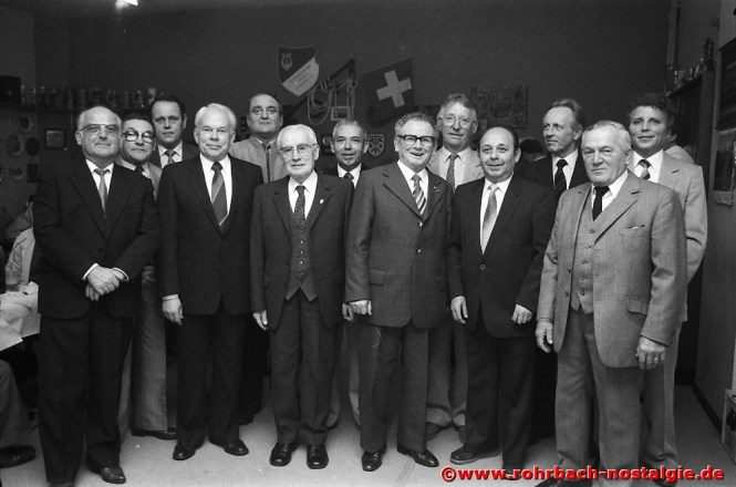 1983 Ehrungen von langjährigen aktiven und passiven Mitgliedern