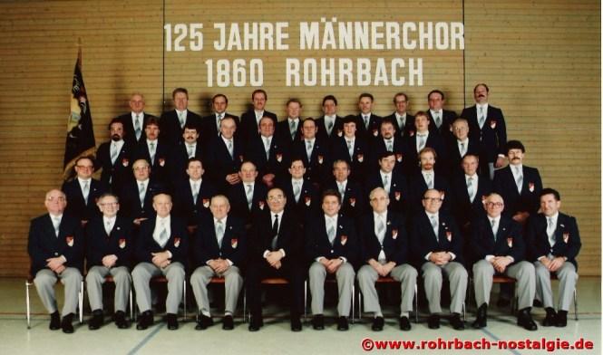 1985 Der Chor im Jubiläumsjahr