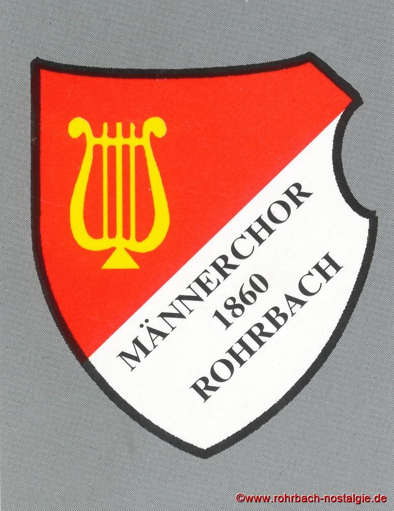 Vereinswappen Männerchor 1860