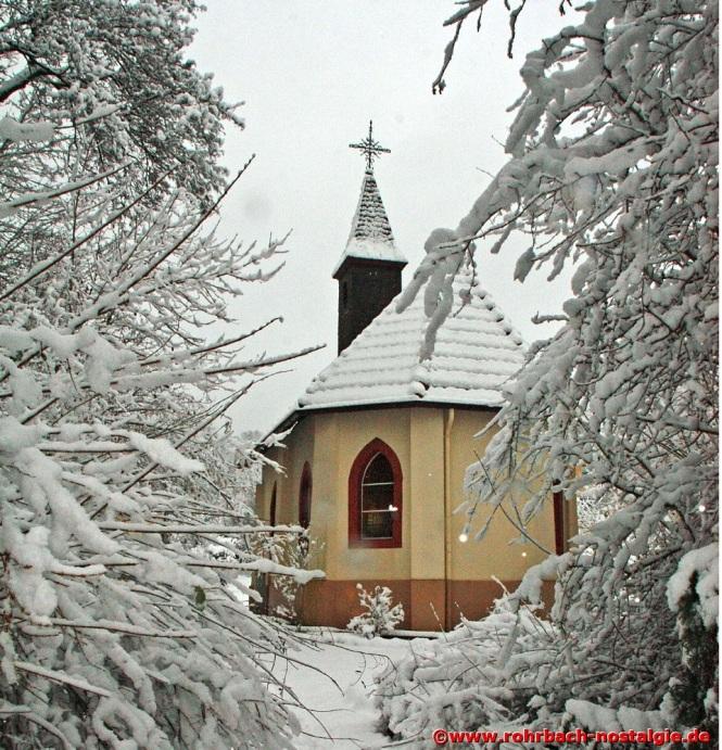 Winter an der Geistkircher Kapelle (Foto: Manfred Agatter)