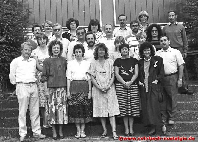 1988 Das Lehrerkollegium der Johannesschule