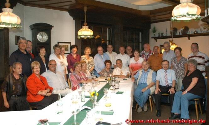 2011 Albert Senzig beim Klassentreffen des Geburtsjahrganges 1948 im Gasthaus Zur Sonne