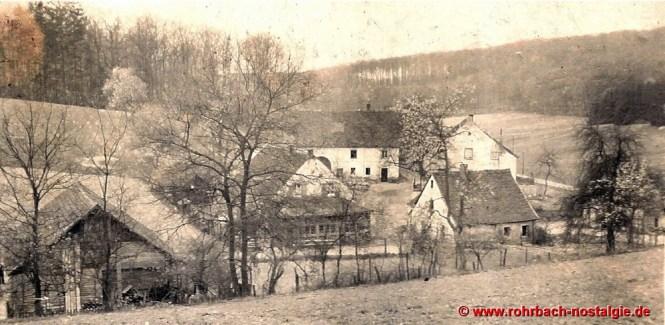 Der Glashütterhof um 1930