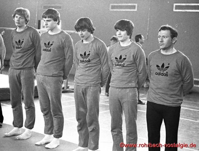 1980 TV 66 Rohrbach wird Landesmeister im Kunstturnen