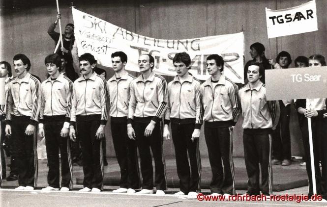 1982 Die TG Saar wird Deutscher Meister im Kunstturnen