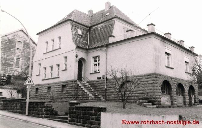 Das Haus von Dr. Egenberger in der alten Schulstraße neben dem Schwesternhaus