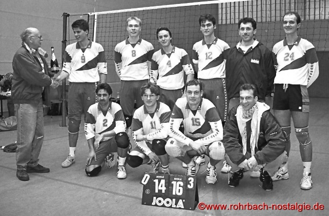1996 Herren Volleyballmannschaft-Meister