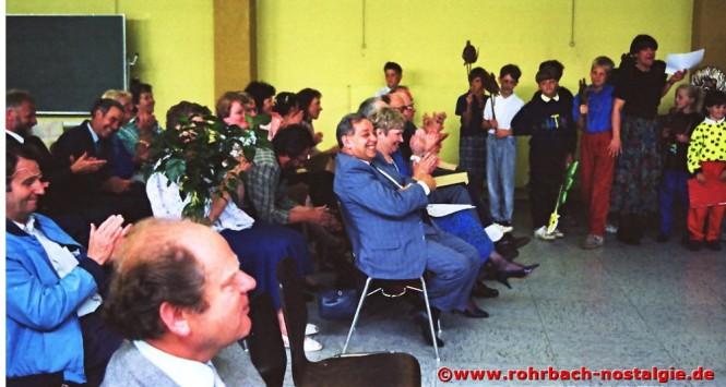 Am 5. Juli 1989 geht Albert Senzig nach 38 Dienstjahren in Pension