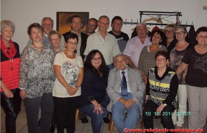 2014 Albert Senzig beim Klassentreffen des Geburtsjahrganges 1955