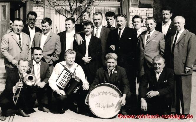 1966 am Kirmesmontag an der Edelweißhütte.