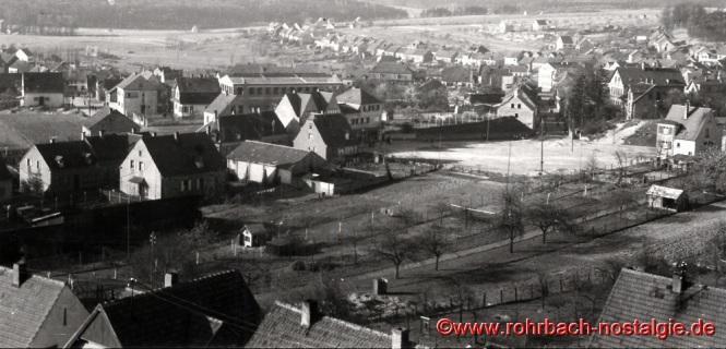 Um 1935 Blick vom Franzosenkopf auf Rohrbach-1
