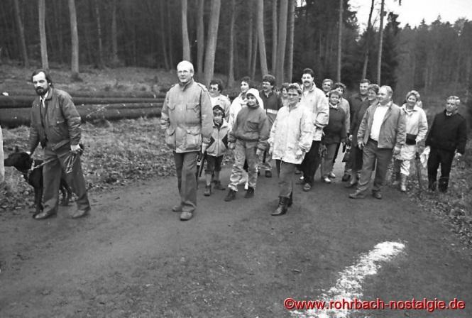 1989 Teilnehmer der Internationalen Volkswanderung