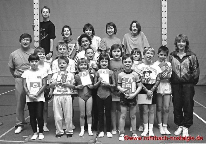 1991 Erfolgreiche Absolventen des Sportabzeichens