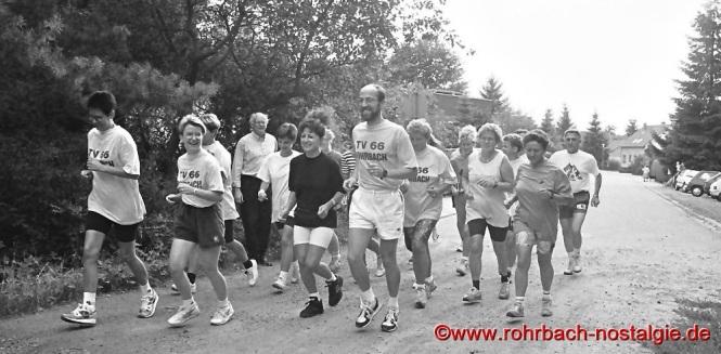 1994 Lauftreff am Forsthaus auf der Siedlung