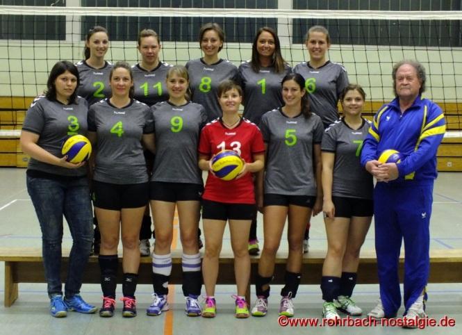Oberliga Meister - Die Damen - Volleyballmannschaft
