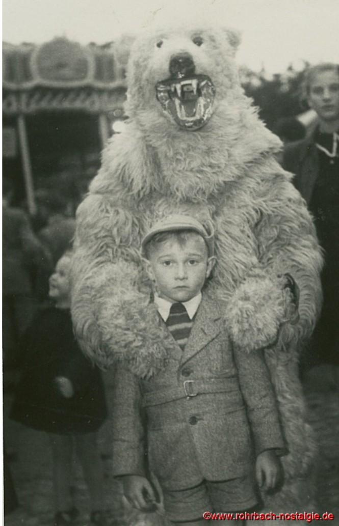 1954 Kirmes Rohrbach Bär Axel