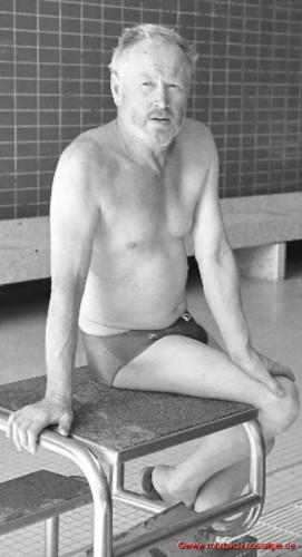 Theo Scholl - Abteilungsleiter der Schwimmabteilung
