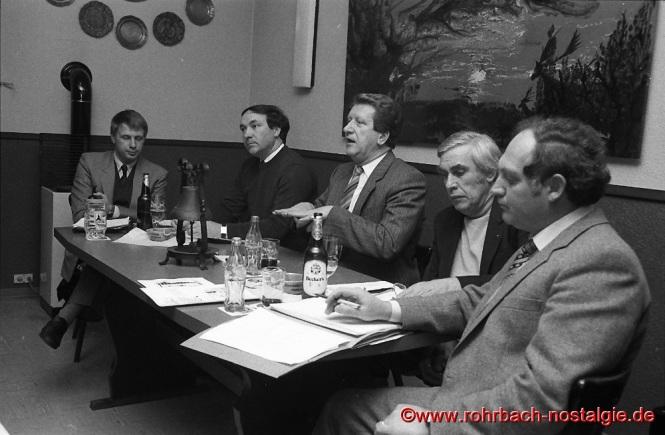 1982 Podiumsdiskussion der CDU Rohrbach