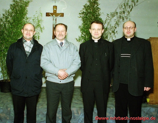 2001 Amtseinführung des neuen Rohrbacher Pfarrres der Pfarrei St. Johannes