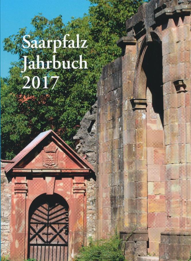 """Das Saarpfalz-Jahrbuch 2017 mit dem Artikel von Karl Abel: """"Die Toten Hosen in der Toten Hose - Eine kultige Punkkneipe in Rohrbach"""